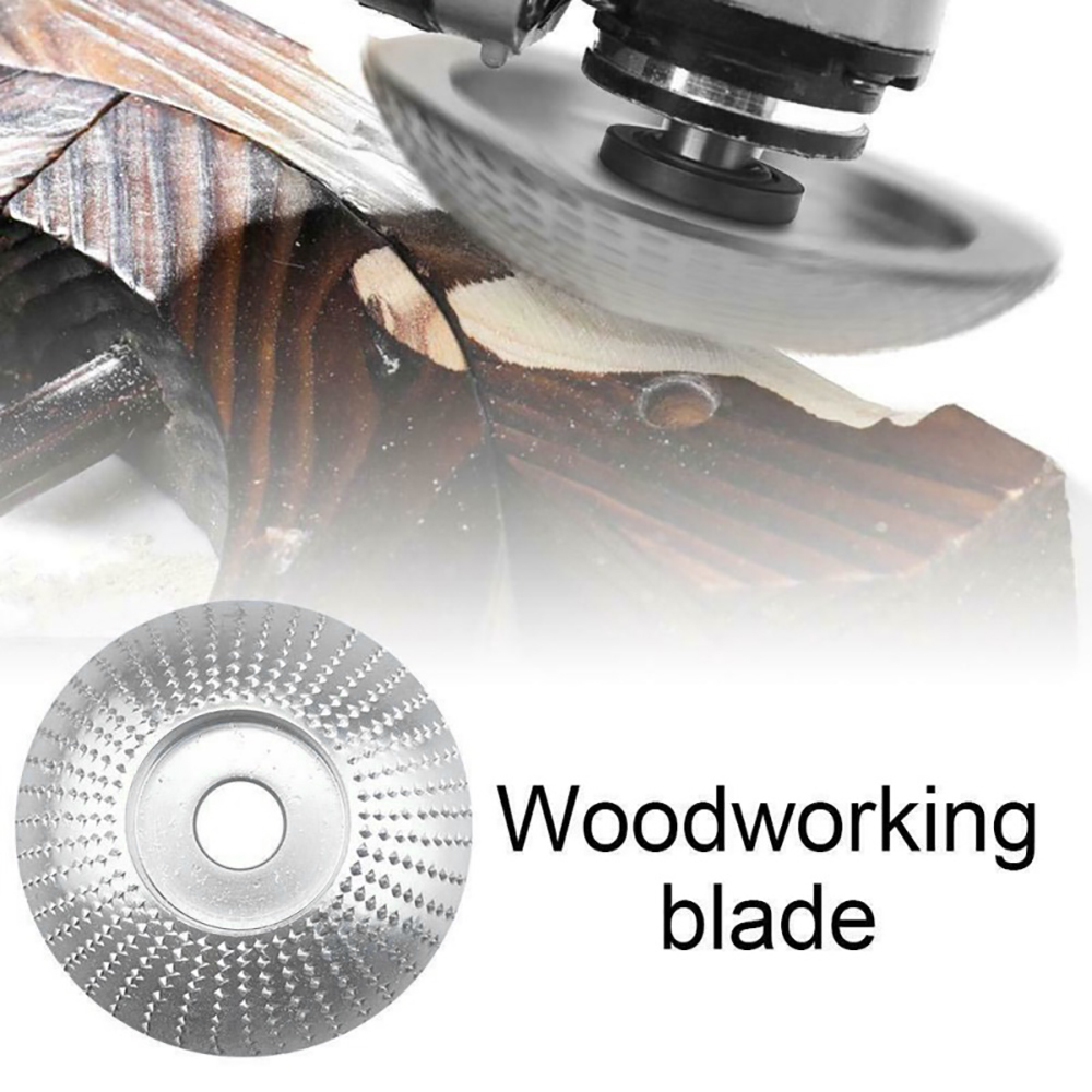 Wood Grinding Wheel Angle Grinder Disc Sanding Carving Rotary Abrasive Tool For Angle Tungsten Carbide Coating Bore Shaping