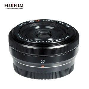 Fujifilm Fujinon XF 27mm F2.8 Lens - Black & Silver