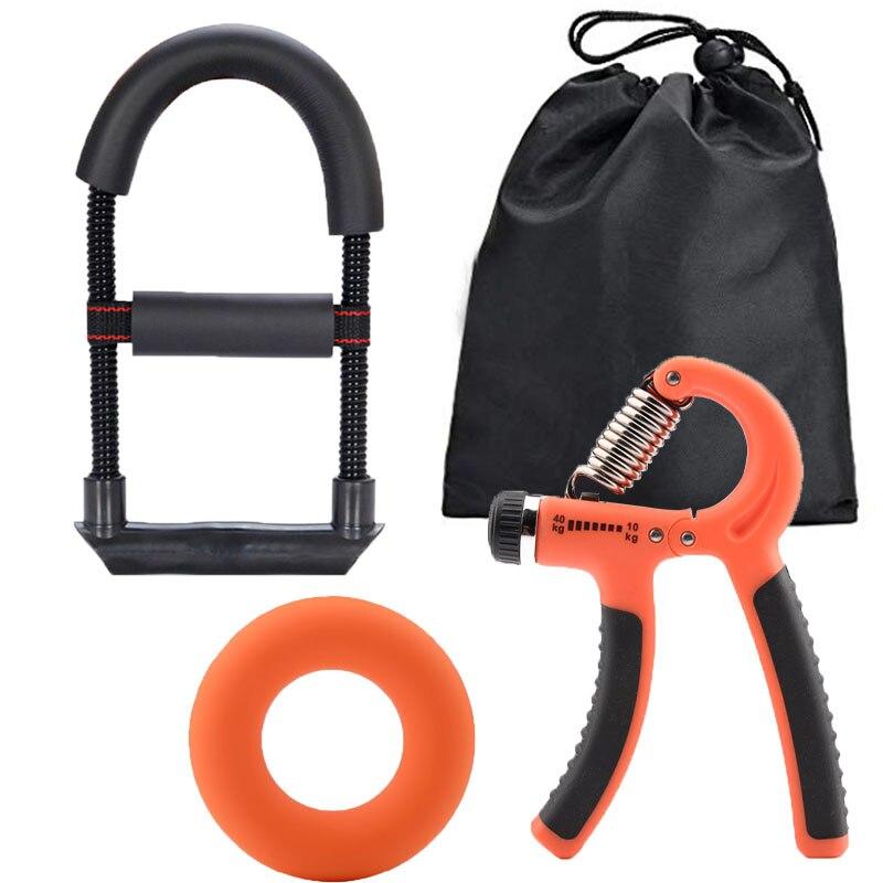Кольцо для фитнеса, рукоятка, усилитель, спортивный тренажер для запястья, тренажер для тренажерного зала, силовая тренировка, пальцевое об...