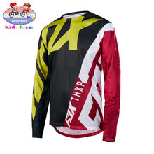 MTB FOX Kids fuera de carretera ATV Racing camiseta soy RF bicicleta Jersey para descensos Jersey Motocross DH MX Ropa ninos