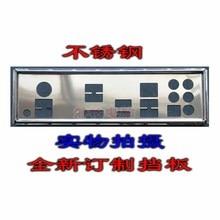 Io I/O Shield Achterplaat Backplate Blende Beugel Voor Msi Mpg X570 Gaming Plus En Voor Msi X570 A pro