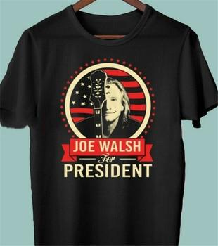 Nueva camiseta de manga corta de color blanco y negro para hombre de la edición limitada del Presidente de Joe Edwards