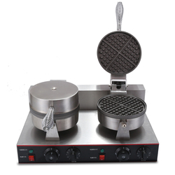 Commercial Double Taiyaki Machine Bubble Waffle Maker Electrical Waffle Maker Price