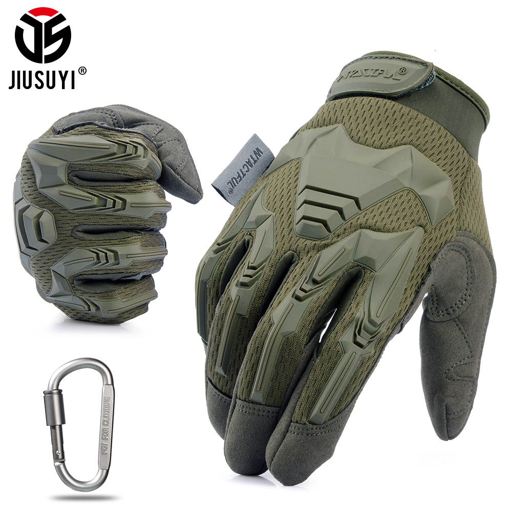 Top SaleMilitary-Gloves Bicycle Rubber Paintball-Shooting Combat Airsoft Army Tactical Women