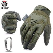 Tactische Militaire Handschoenen Leger Paintball Schieten Airsoft Combat Fiets Rubber Beschermende Anti Slip Volledige Vinger Handschoen Mannen Vrouwen