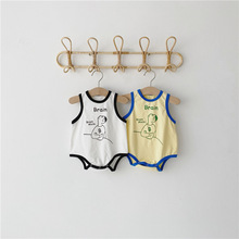 MILANCEL baby boys clothes newborn clothes girls summer outfit baby funny clothes baby boys vest