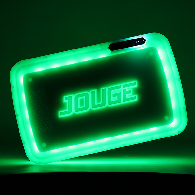 Cigarette Rolling Tray with Handbag Glow Trays for Smoking Gadgets for Men Grinder Square LED 29cm <font><b>Tobacco</b></font> <font><b>Case</b></font> Portable Pallet image