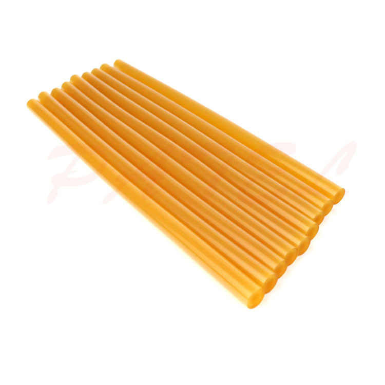 11 Mm * 27cm Amber Hot Melt Glue Stick Ultra-Viscous Block Glue Accessories Hair Accessories Transparent Thermosol Block Glue