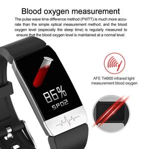 Image 2 - Multi sport Smart Watch Thermometer Temperature Measurement ECG Health Monitor Wristband Waterproof Music Control Smart Bracelet