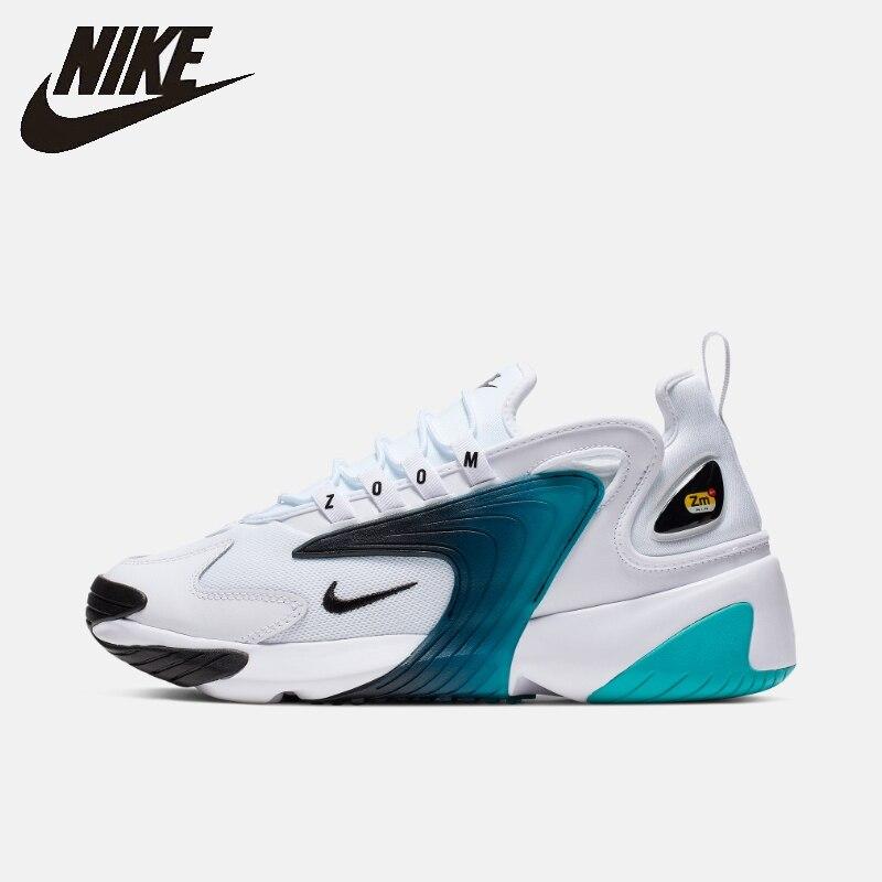 나이키 줌 2k 남자 2019 농구 신발 새로운 도착 통기성 편안한 야외 스포츠 스니커즈 # AO0269