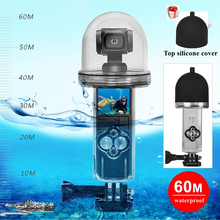 Чехол Osmo Pocket для дайвинга, водонепроницаемый чехол, защитный чехол для дайвинга, футляр для камеры глубины 60 м, аксессуары для DJI Osmo Pocket