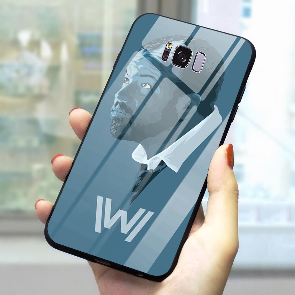 Ultra Thin Westworld Season Glass Phone Cover for Samsung Galaxy A40 Case A70 A60 M40 A50 A20 A30 A10 S7 Edge S8 S9 Plus S10 image