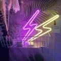 Neon Led Wand Licht Schlank Schlaksige Neon Blitz Licht Zeichen Lampe Schlafzimmer Home Dekorationen Neon Lampen Geschenke Für Weihnachten Neue jahr