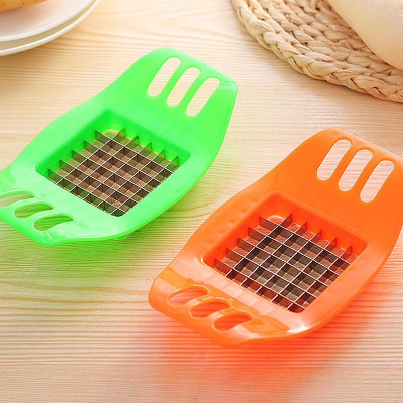 High Quality Stainless Steel Potatoes Cutter Cut Into Strips, Fries Tools Kitchen Gadgets Cutting Potato Layering Machine .