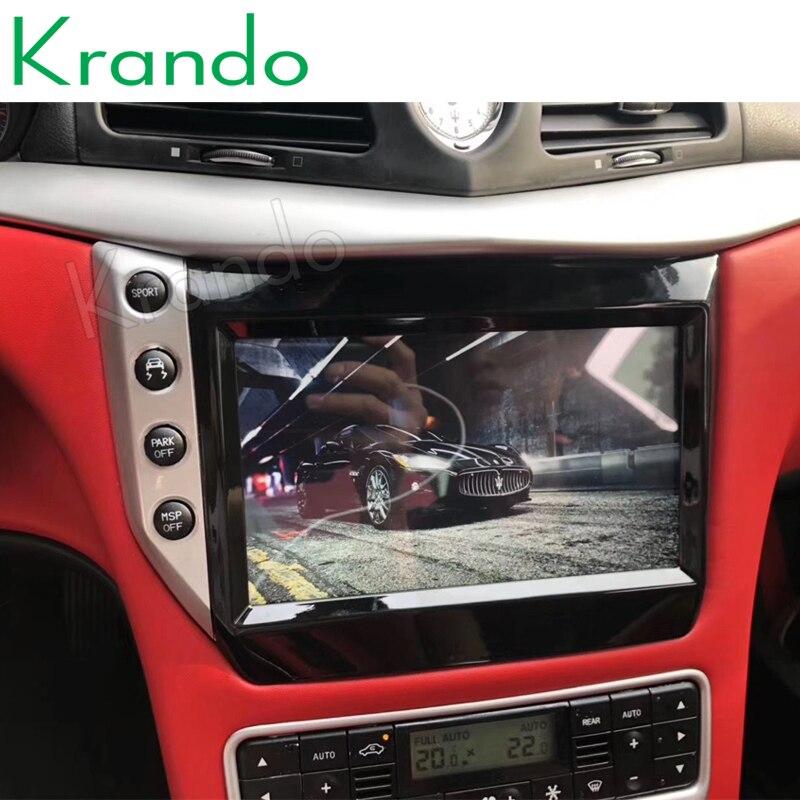 "Krando 9 ""Android 8.1 autoradio pour Maserati GT/GC GranTurismo 2007-2019 GPS navigation multimédia stéréo lecteur Audio DVD"