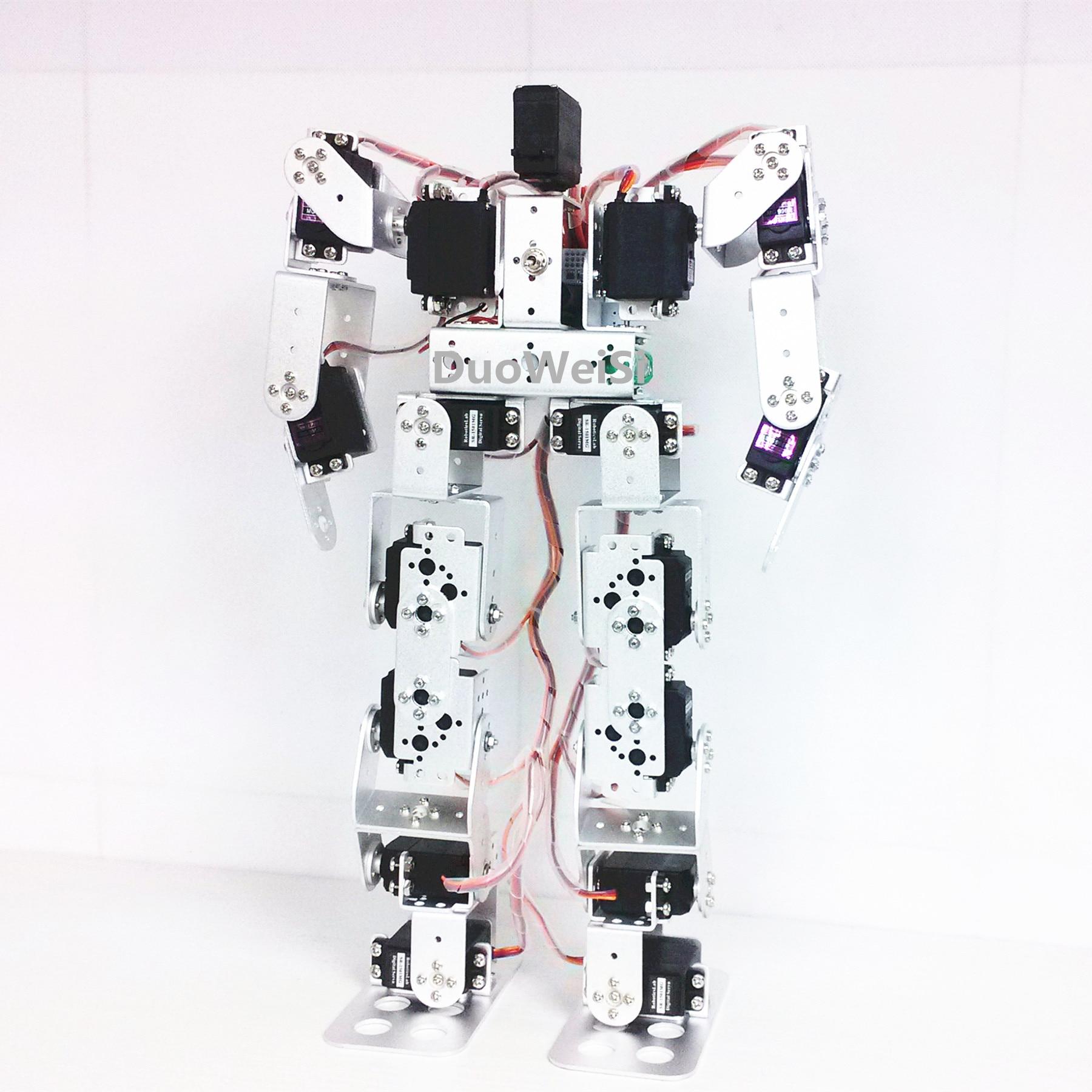 17 DOF Humanoid Dance Robot / Biped Walking Robot / Teaching Kit / Robot Competition 17 Degrees Of Freedom Robot