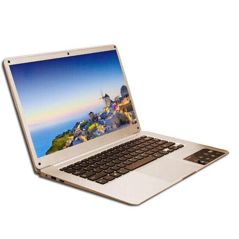 Ultra-thin Laptop PC 14.1 Inch Netbook 1366*768P Display Pixel 4GB+64GB For Windows10