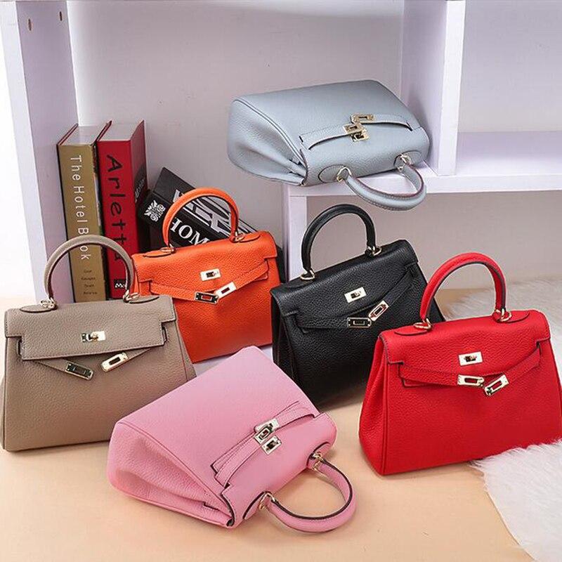 Designer Women Bag 2020 New Lock Genuine Leather Luxury Women Bag For Shoulder Bags Crossbody Lady Handbags Famous Brands Bags