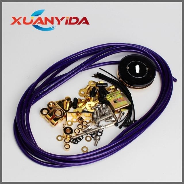 Universal Auto Auto Batterie Erdung Draht Elektrische Condution Stabile Spannung Kabel Racing Auto Erdung Draht Kit