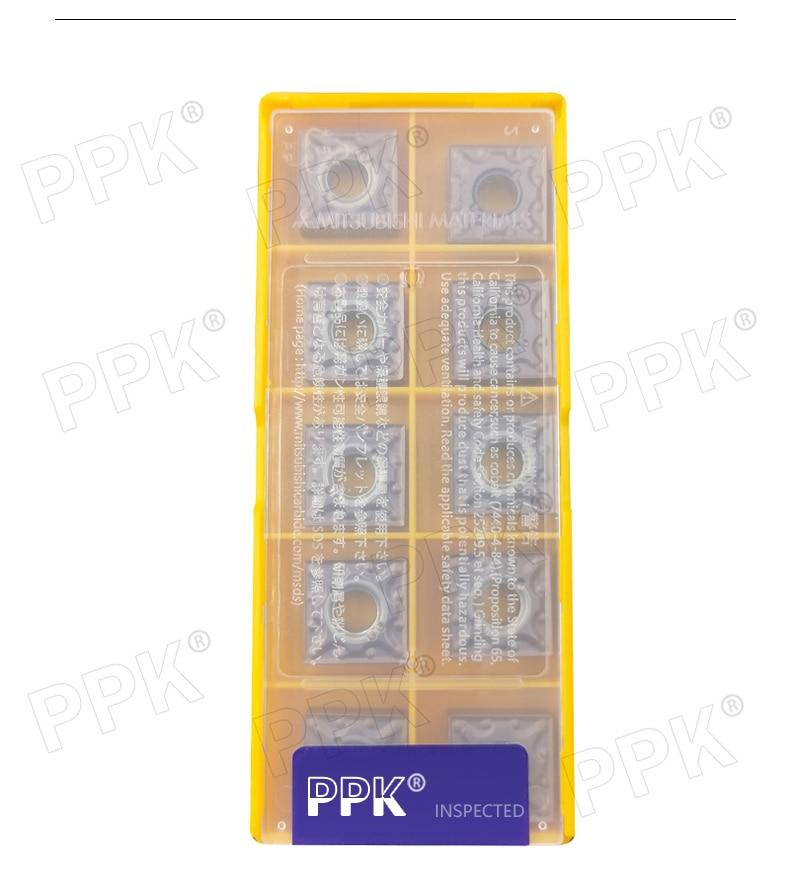 10pcs//box SNMG120404-MA SNMG431 MA VP15TF lathe turning CNC Carbide Inserts NEW