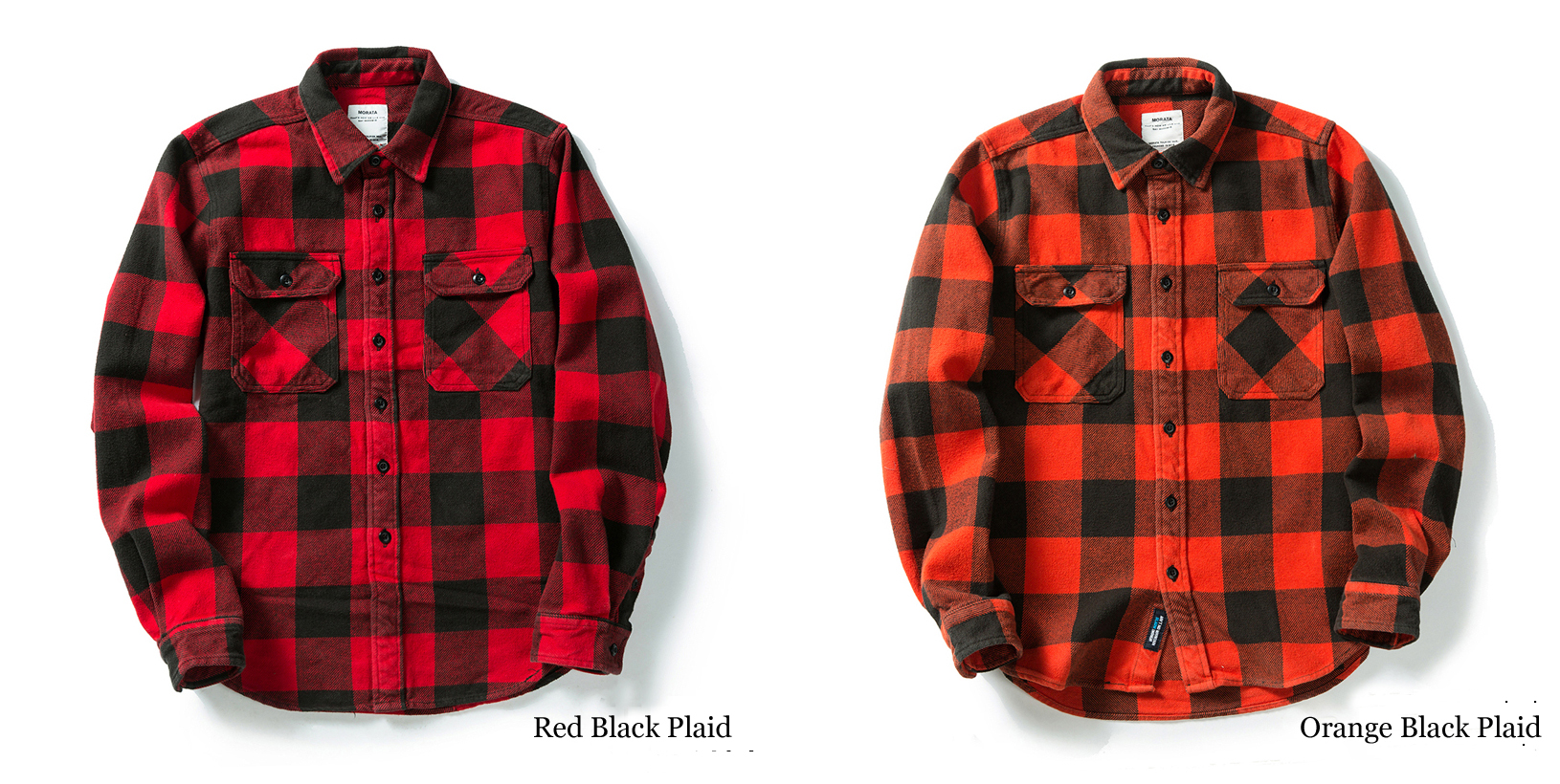 H69e707614ade40b4a926ed6afeddcfc7a 100% cotton heavy weight retro vintage classic red black spring autumn winter long sleeve plaid shirt for men women