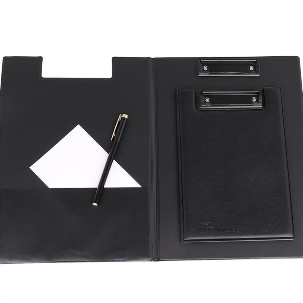 A4 A5 Signature Folder Board Leather Writing Pad Hotel Conference Padfolio Leather Manager Filing Products