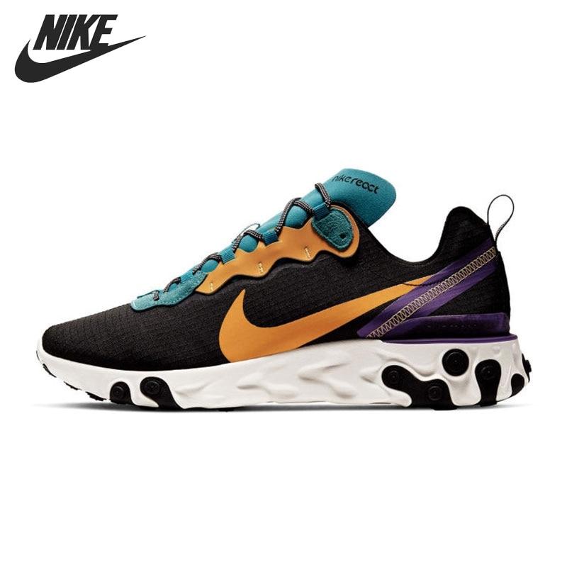 Original New Arrival NIKE REACT ELEMENT 55 PRM SP20 Men's  Running Shoes Sneakers