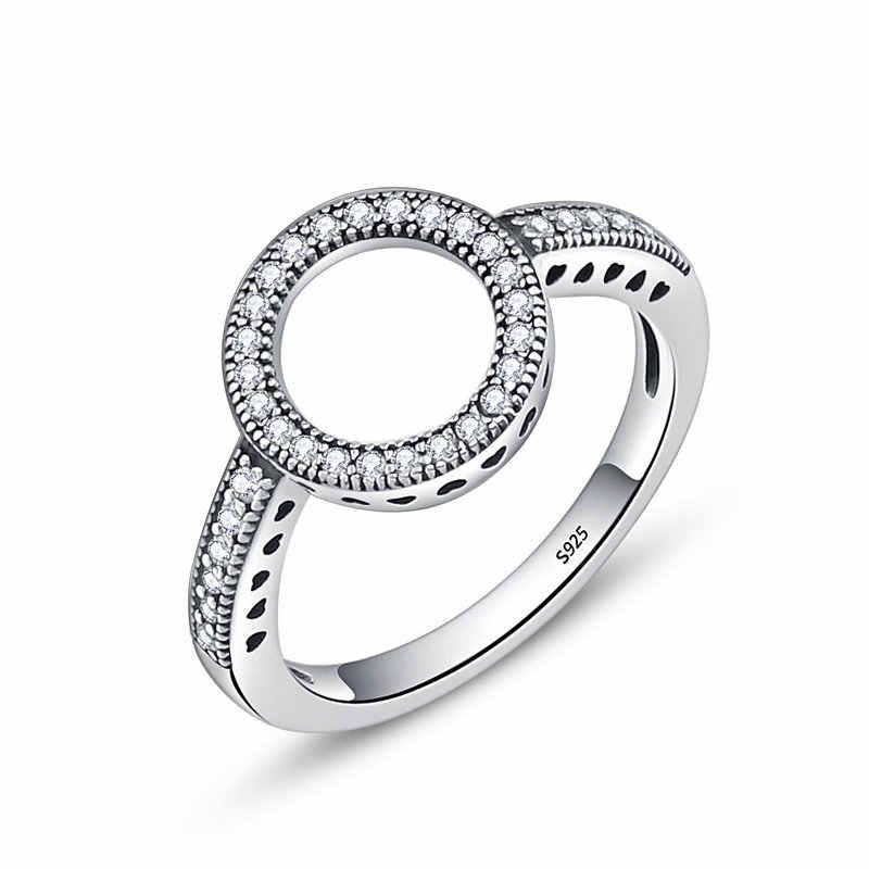 Codemonkey 100% 925 Sterling Silver Cincin Grosir Populer Bunga Lucky Cincin untuk Wanita Perhiasan Membuat Dorpshipping R7220