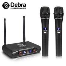 Дебра аудио u 88 uhf выбор частоты 100 м Диапазон! 2 портативные