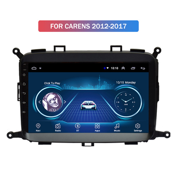 NEW-New 1+16G Android 10 Car Radio Multimedia Player for Kia Carens 2012-2017 GPS Navigation 2Din image