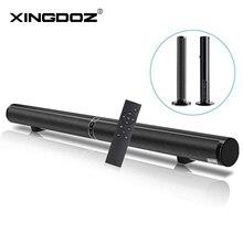 50W Loa Bluetooth Có Thể Tháo Rời Tivi Soundbar Hifi 3D Stereo Cột Loa Siêu Trầm Vòm Hỗ Trợ RCA AUX HDMI Dành Cho Gia Đình