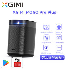 XGIMI Mogo Pro Plus Smart Portable Projector DLP 1080P Android 9.0 12400mAh Global Version Mini Beamer Home Theater