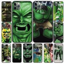 Incredible Hulk Marvel Luxury silicon soft phone case For iPhone 5 5S 6 6s 7 8 Plus X XS XR 11 Pro Max(China)