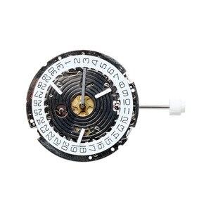 Image 2 - 1 個 ISA 8171/202 交換 8161 クォーツムーブメント日付で 4 腕時計ハンドワインディングムーブメント時間ディスプレイ修復ツール部品