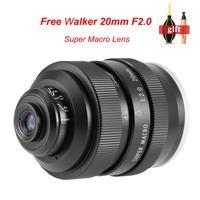 Zhongyi Mitakon 20mm f/2 4.5X Super Macro Lens for Canon EF EOS M Nikon F Sony E Pentax K M4/3 Fujifilm X Sony Minolta A mount