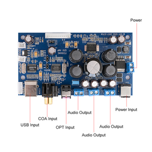 Image 5 - AIYIMA STA350 Digital Power Verstärker 2,1/2,0 Sound Verstärker Bord Mit PCM2704 Audio Decoder Koaxial Fiber Optic USB Eingang