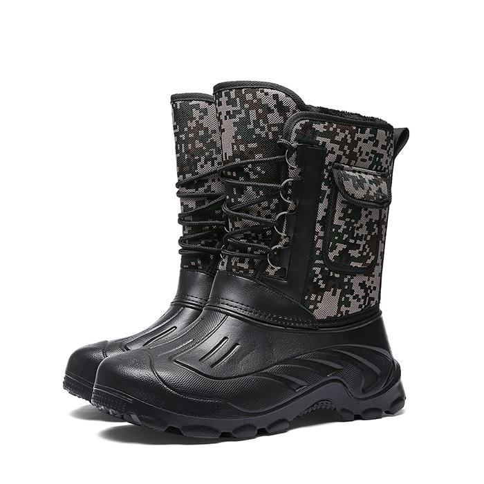 Best Promo #2bec 2019 Winter Camouflage Snow Men Boots