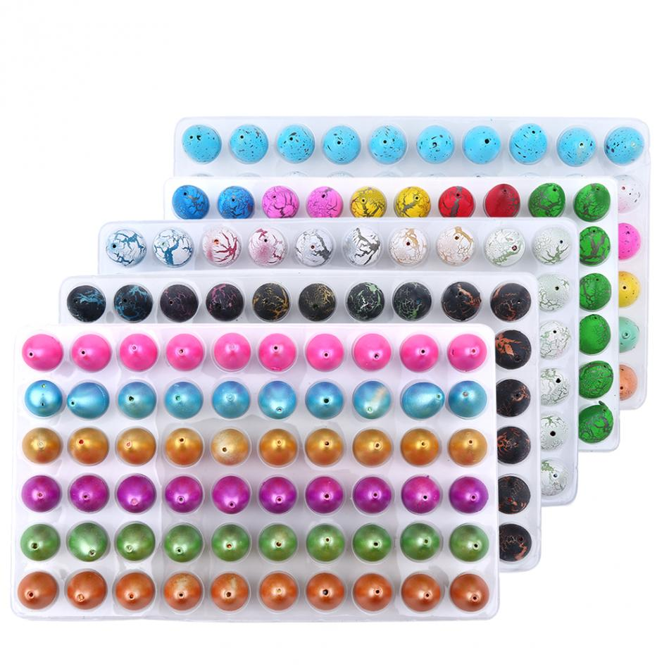 60Pcs/Sets Magic Dinosaur Eggs Toys Water Hatching Dinosaur Egg Toys For Children Educational Novelty Gag Toy Kids Funny Gifts