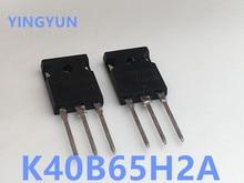 10 ชิ้น/ล็อตK40B65H2A AOK40B65H2AL TO 247 N CHANNELหลอดPOWER IGBTทรานซิสเตอร์