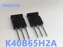10 sztuk/partia K40B65H2A AOK40B65H2AL TO 247 N CHANNEL rury zasilania tranzystor IGBT