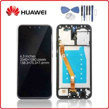 HUAWEI Original Mate 20 Lite LCD Display Touch Screen Digitizer For Huawei Mate20 Lite Display with Frame SNE-LX1 SNE-L21 s lie sne