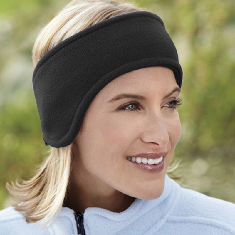 Double Thick Winter Warm Earmuffs For Women Keep Warmer Head Band Ski Ear Muff Winter Ear Cover Protector Ear Warm