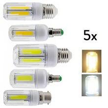 5x led espiga milho lâmpada e26 e12 e26 e14 b22 12 w 16 brilhante lâmpada para casa rd1002 para casa led lustre decoração ampola