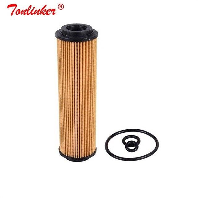 オイルフィルター A2711800009 1 個メルセデスベンツ C CLASS W203 CL203 S203 2001 2011 C180 C200 C230 コンプレッサーモデル紙オイルフィルター