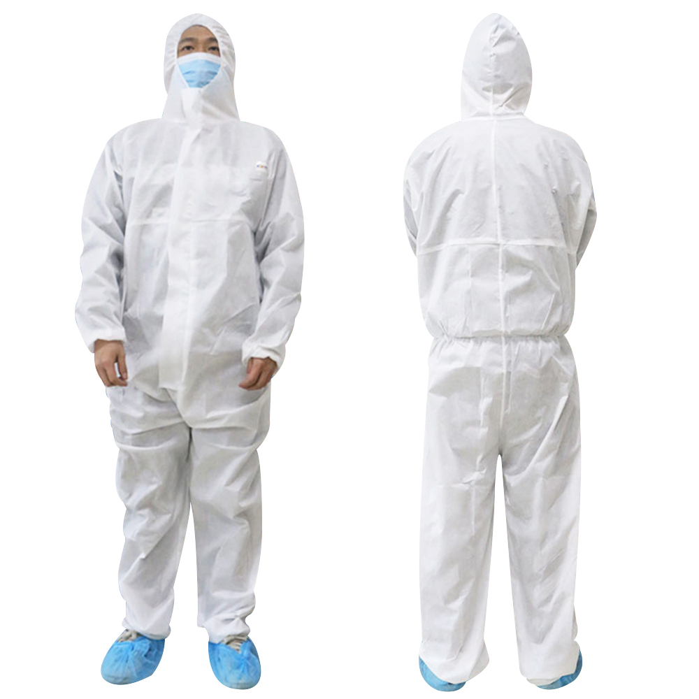 Reusable Protective Suit Nurse Uniform Accessories Anti Static Coveralls Shoes Cover Indoor Workwear Protective Glasses 3m D30