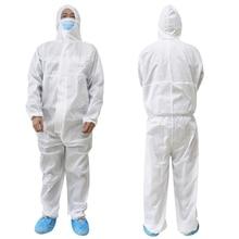 Reusable protective suit nurse uniform accessories anti static coveralls shoes cover indoor Workwear glasses 3m D30