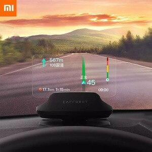 La nueva Xiaomi Mi Carrobot inteligente HUD + OBD la pantalla parabrisas velocidad proyector Mijia App Cloud perro electrónico