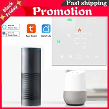 Smart Life Wifi Thermostat For Electric Floor Heating Home Temperature Controller Work With Alexa Google Home