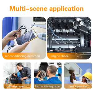 Image 5 - 3.9mm Android Endoscope Camera 2.0 MP 3 in 1 USB Mini Camcorders Waterproof 6 LED Borescope Inspection Camera For Huawei PC