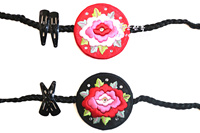 Korean Original Import Hair Accessories / Korean Clothing Hand Embroidered Hair Band / Hair Rope Wholesale Price